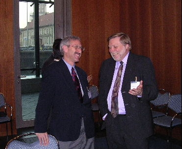 Scott and Dr. Karl-Heinz Neumann, Berlin,